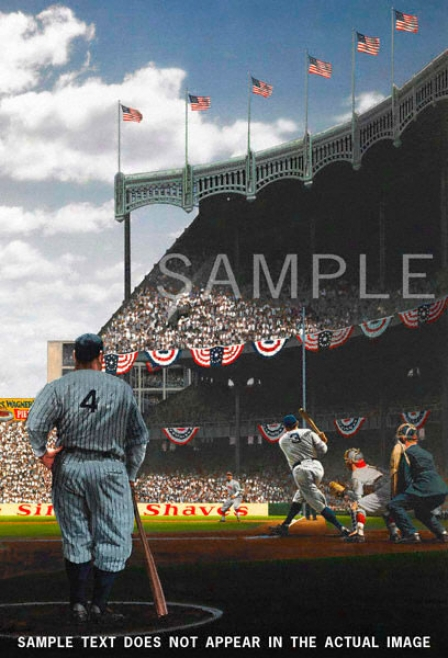 New York Yankees - &quotopening Day 1929&quot - Large - Unframed Giclee