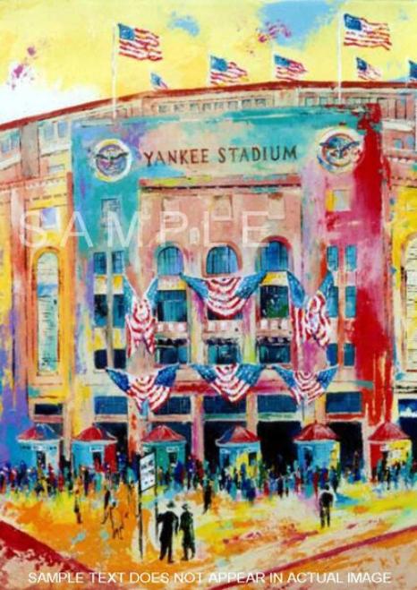 New York Yankees - &quotyankee Stadium 1923&quot - Large - Framed Giclwe