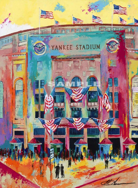 New York Yankees - &quotyankee Stadium 1923&quot - Wall - Unframed Giclee