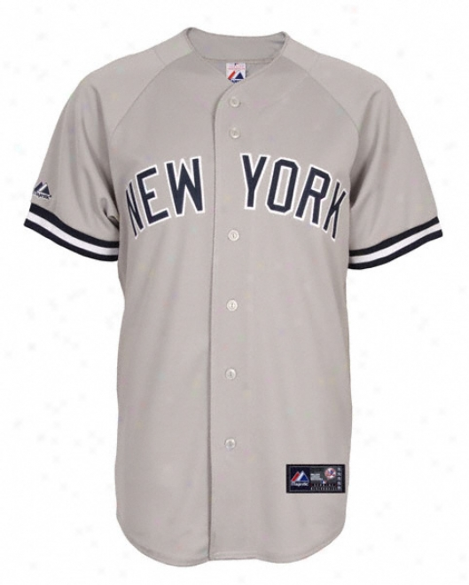 New York Yankees Road Mlb Replifa Jersey
