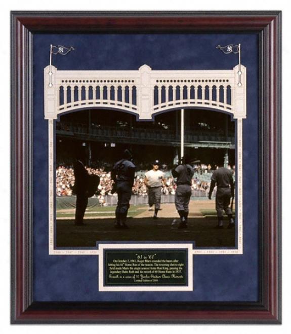 New York Yankees Yankee Stadium 61 In 1961 Classic Moment # 7