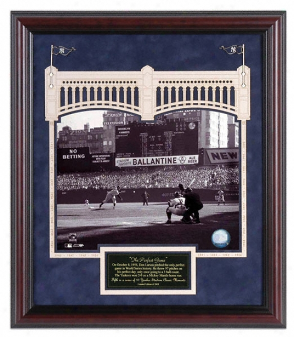 New York Yankees Yankee Stadium Larsen Perfect Game Classic Moment # 5
