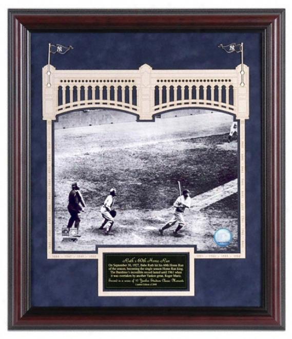 New York Yankees Yankee Stadium Ruth 60th Home Run Classic Moment # 2