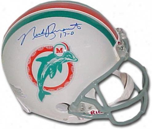 Nick Buoniconti Miami Dolphins Autographed Helmet