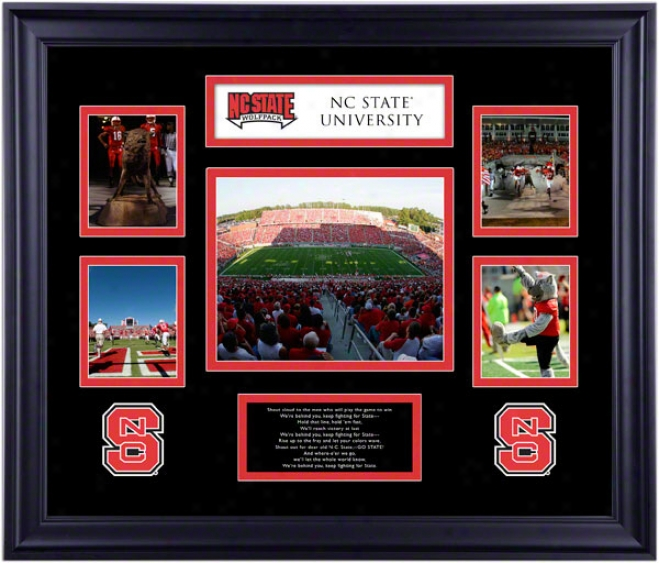 North Carolina State Wolfpaco Framed 5-photograph Collage