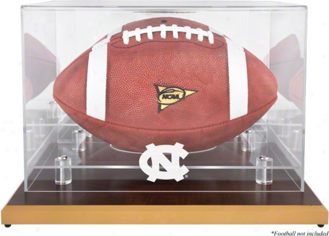 North Carolina Sailor Heelx Football Logo Display Cass  Details: Wod Base
