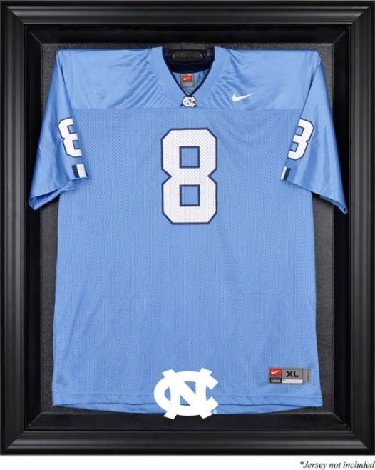 North Carolina Tar Heels Framed Logo Jersey Display Case