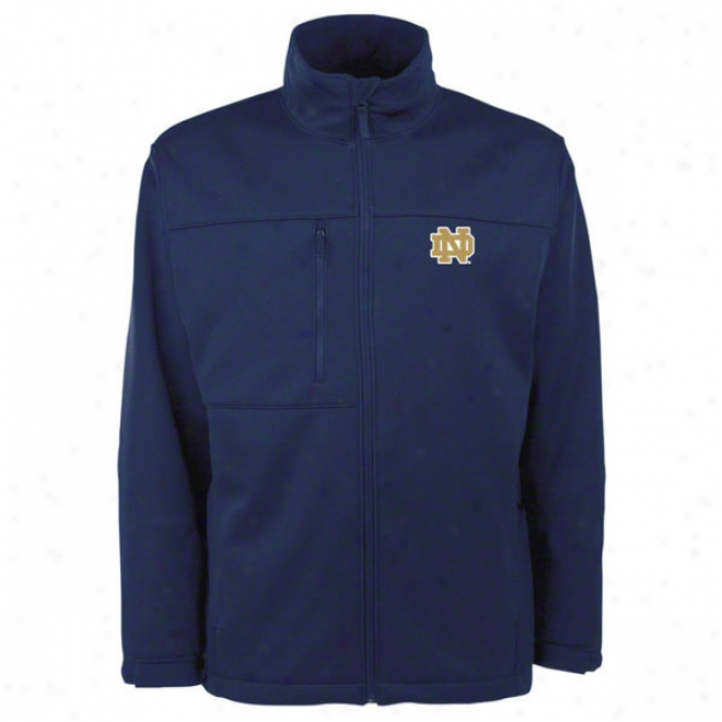 Notre Dame Fighting Irish Ny Traverse Bonded Soft Shell Jerkin