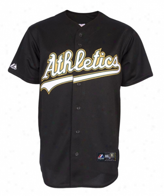 Oakland Athletics Alternate Road Mlb Replica Jersey