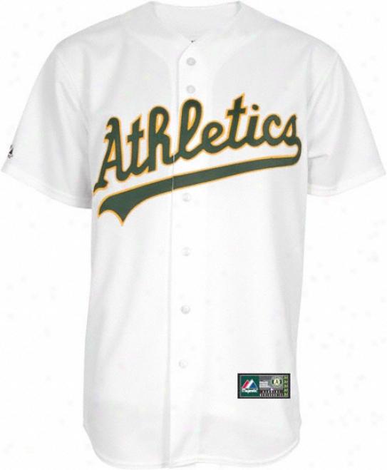 Oakland Athletics Home Mlb Replica Jersey