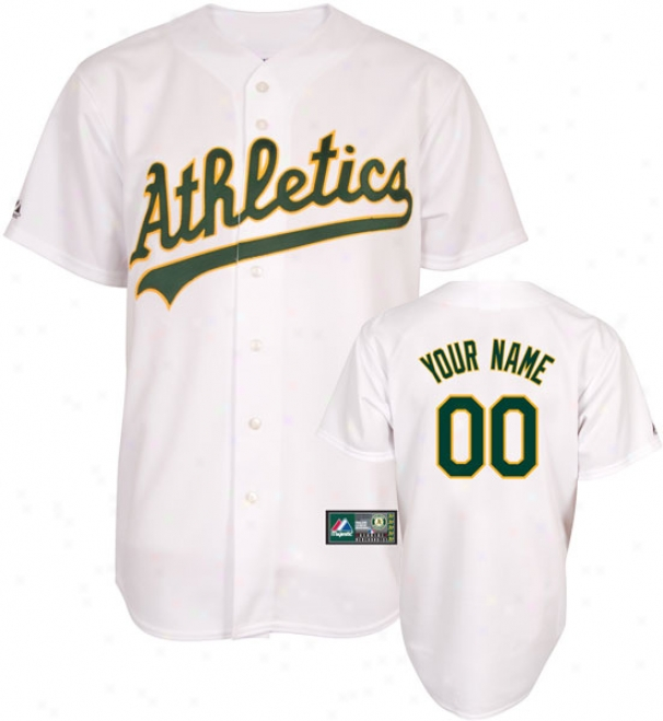 Oakland Gymnastics -personalized With Your Name- Home Mlb Replica Jersey