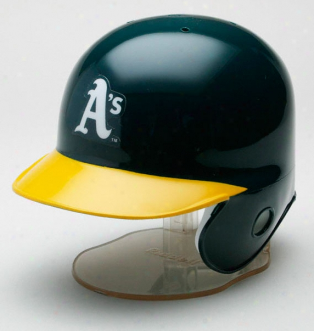 Oakland Athletics Riddell Mini Helmet