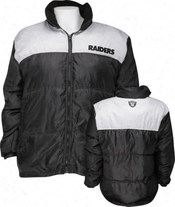Oakland Raiders Bubble Jacket