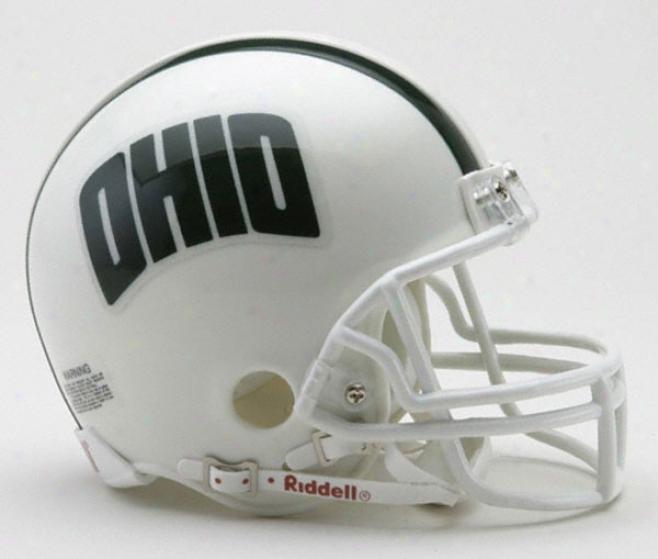 Ohio Bobcats Riddell Mini Helmet