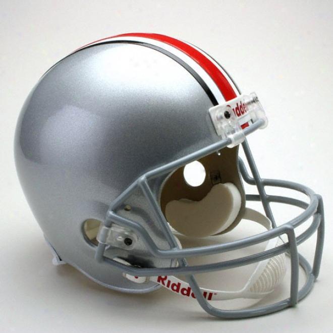 Ohio State Buckeyrs Deluxe Replica Riddell Helmet