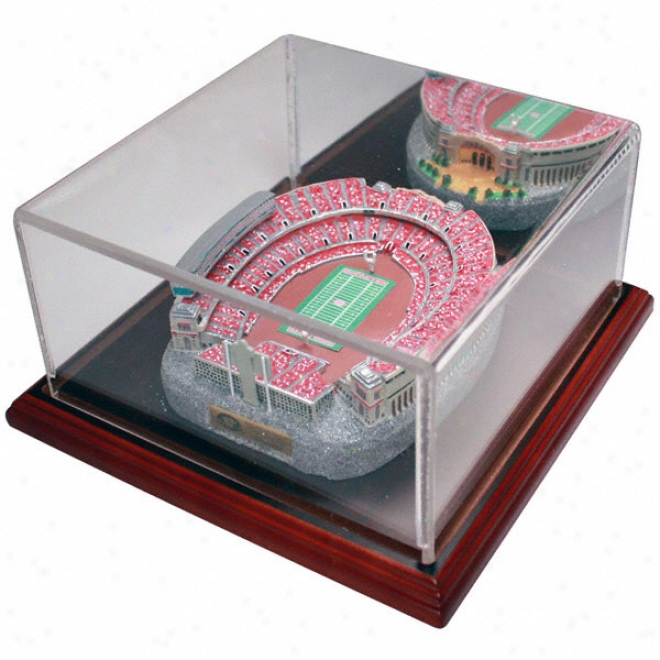 Ohio State Buckeyes &quotthe Shoe&quot Replica With Case - Gold Series