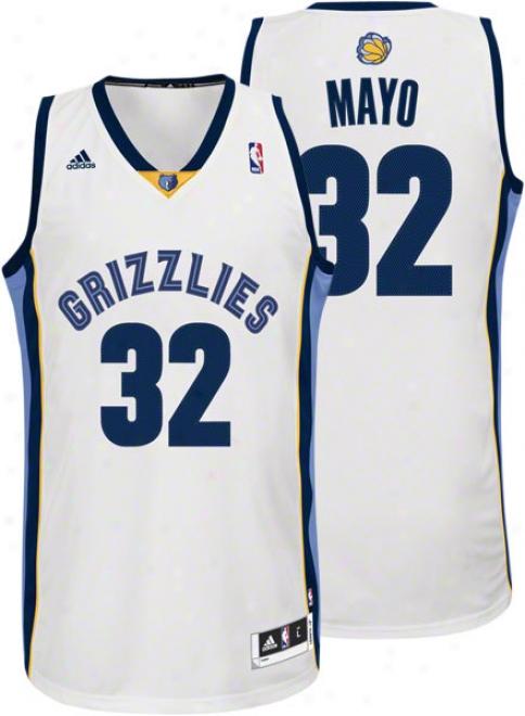 O.j. Mayo White Adidas Revolution 30 Swingman Memphis Grizzliies Jersey