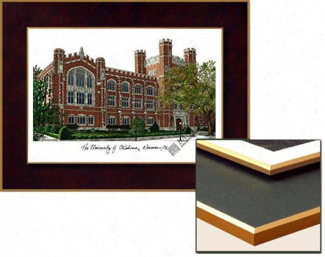 Oklahoma Sooners Collegiate Laminated Lithograph
