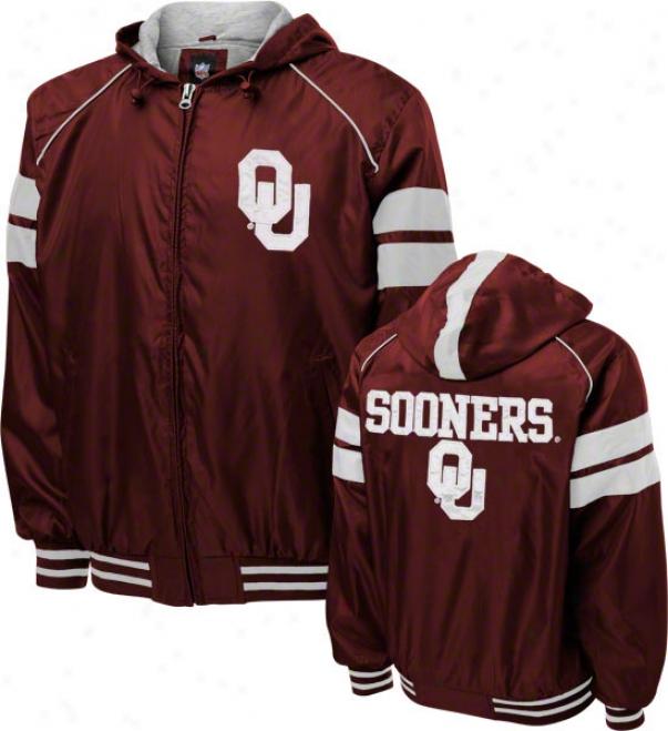 Oklahoma Sooners Dedication Full-zip Lightweight Jacket