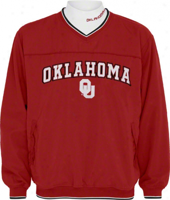 Oklahoma Sooners Windshirt/long Sleeve Mockneck Combo Collection