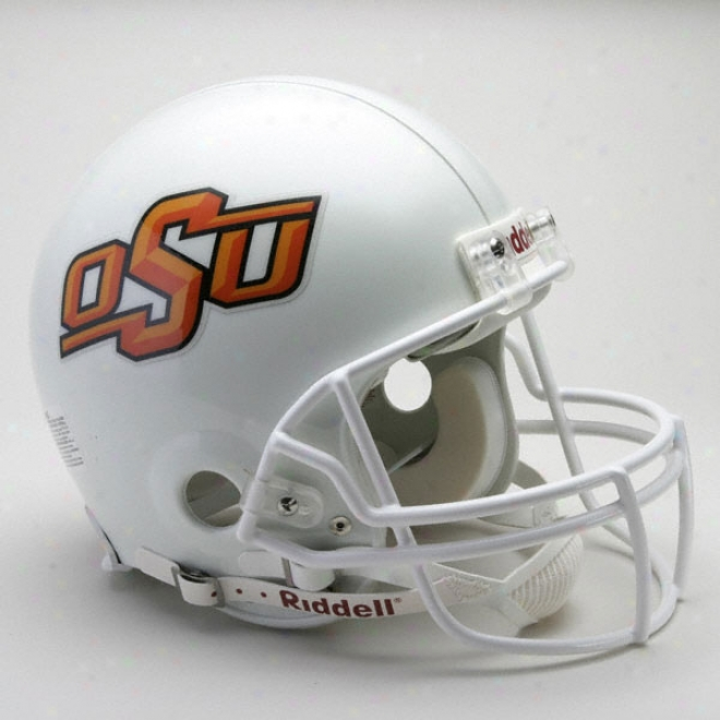 Oklahoma State Cowboys Authentic Pro Line Riddell Full Size Helmet