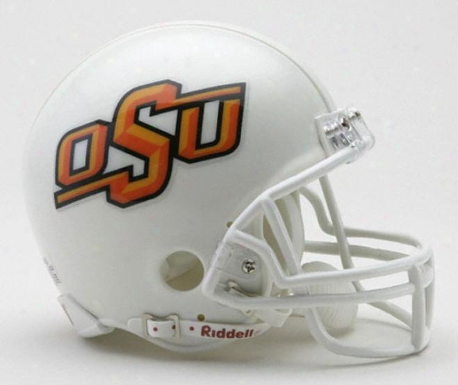 Oklahoma State Cowboys Riddell Mini Helm