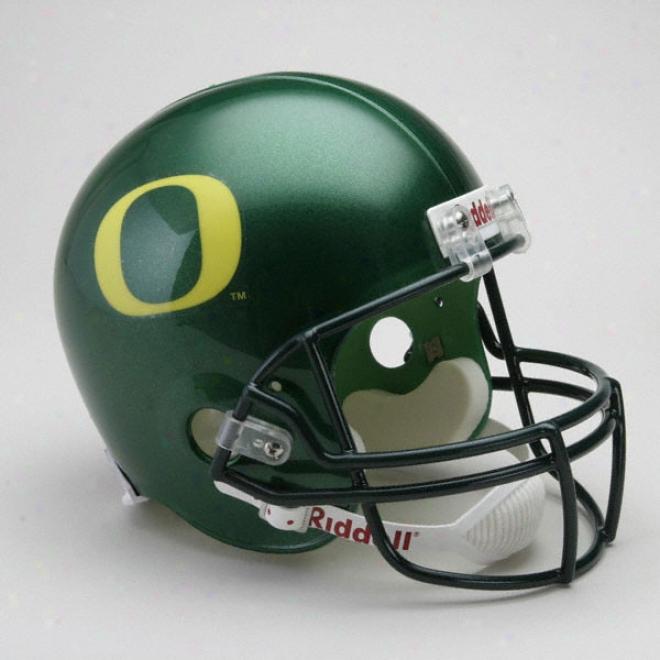 Oregon Ducks Deluxe Replica Riddell Helmet