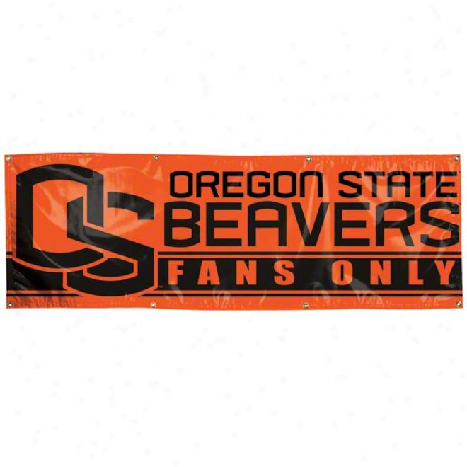 Oregon State Beavers 2x6 Vinyl Banner