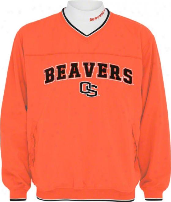 Oregon State Beavers Windshirt/long Sleeve Mockneck Combo Pack