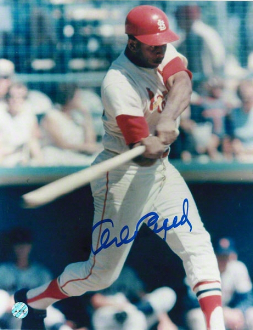 Orlando Cepeda St. Louis Cardinals Autographed 8x10 Photo Swing