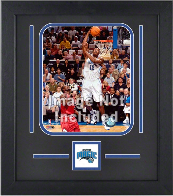 Orlando Magic 8x10 Veertical Stup Frame With Team Logo