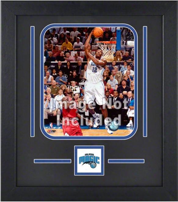 Orlando Magic 8x10 Veertical Stup Frame With Team Logo