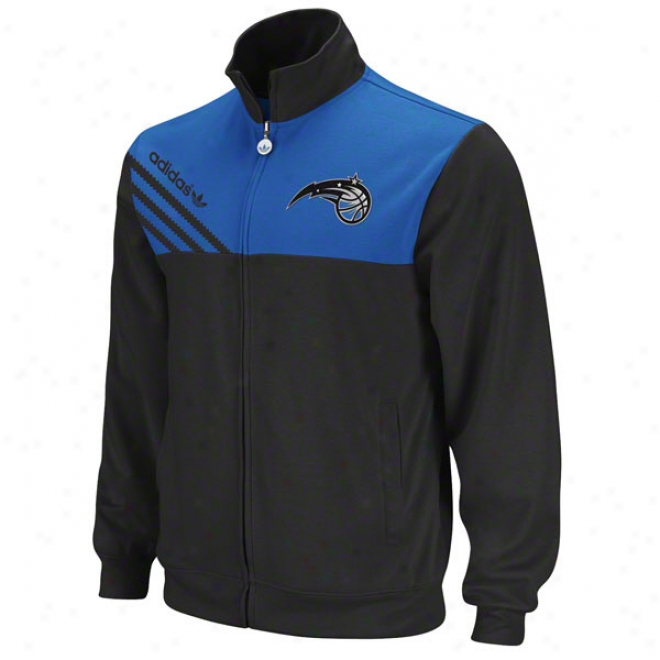 Orlando Magic Black Adidas Originals Nba Action Track Jacket