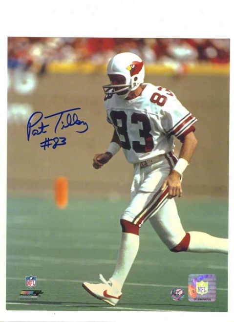 Pat Tilley Autographed St. Louis Cardinals 8x10 Photo