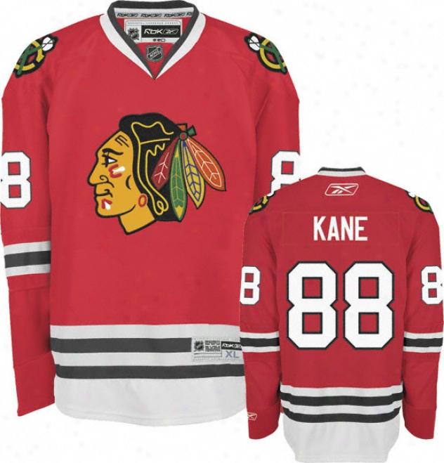 Patrick Kane Jersey: Reebok Red #88 Chicago Blackhawks Premier Jersey