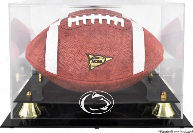 Penn State Nittany Lions Golden Classic Logo Football Case With Mirror Back
