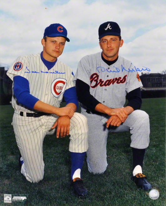 Phil & Joe Niekro Chicago Cubs & Atlanta Braves 16x20 Autographed Photograph