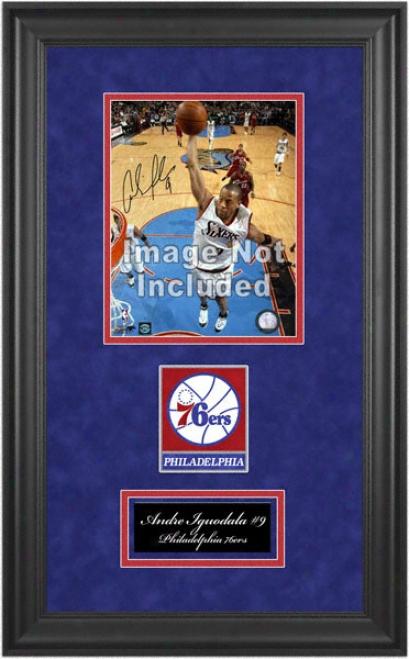 Philadelphia 76ers Deluxe 8x10 Team Loto Frame