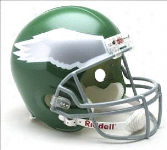 Philadelphia Eagles 1974-1995 Deluxe Replica Riddell Throwback Loud Size Helmet