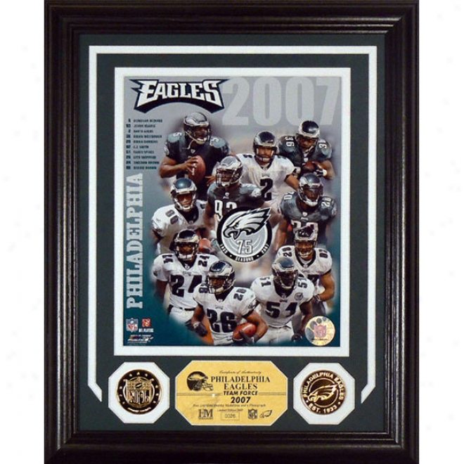 Philadelphia Eagles 2007 Team Force Photomint