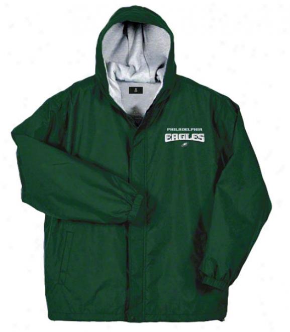 Philadelphia Eagles Jacket: Unseasoned Reebok Legacy Jerkin