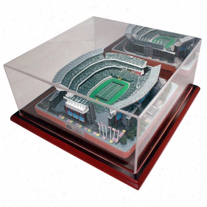 Philadelphia Eagles Lincoln Financial Stadium Replica With Case - Platinum Series