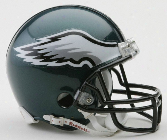 Philadelphia Eagles Nfl Riddell Mini Helmet