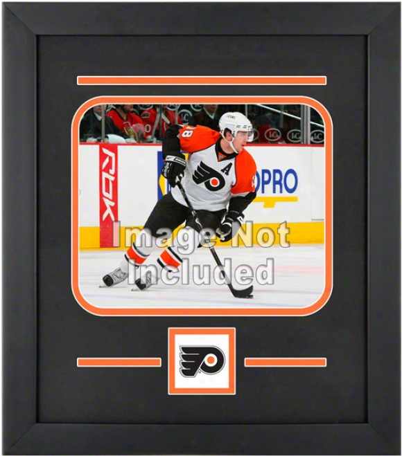 Philadelphia Flyers 8x10 Horizontal Setup Frame With Team Logo