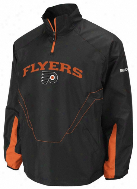 Philadelphi Flyers Cetner Freeze 1/4 Zip Hot Jacket
