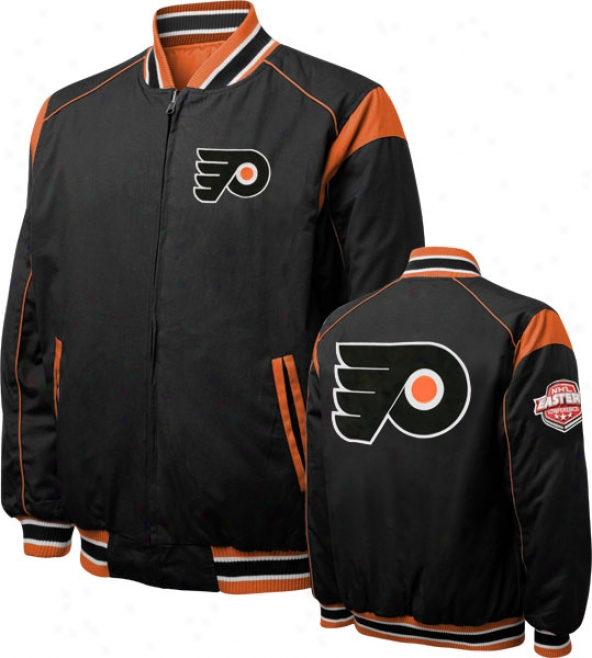 Pniladelphia Flyers Turn Back The Clock Full-zip Reversible Jacket