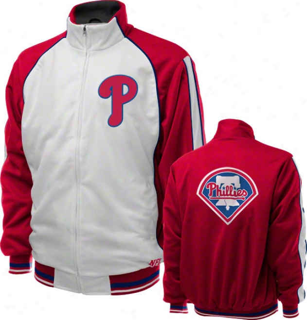 Philadelphia Phillies Coasting To Victory Full-zip Track Jacket