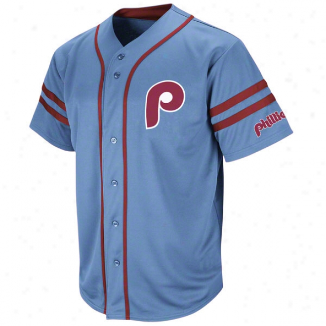 Philadelphia Phillies Cooperstown Red Heater Fashion Jersey