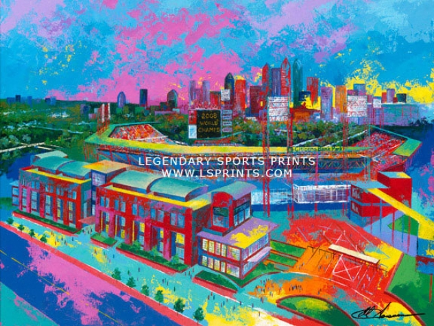 Philadelphia Phillies - &quotcitizens Bank Park&quot - Large - Unframed Giclee