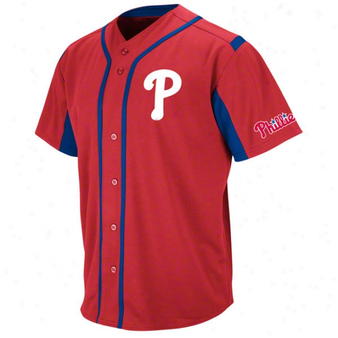 Philadelphia Phillies Red Wind-up Jersey
